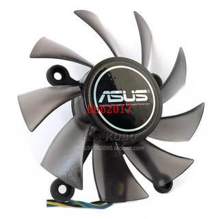 新品ASUS 華碩 GTX550TI 750 460 560  6670 6850 7770 7850顯卡風扇重磅