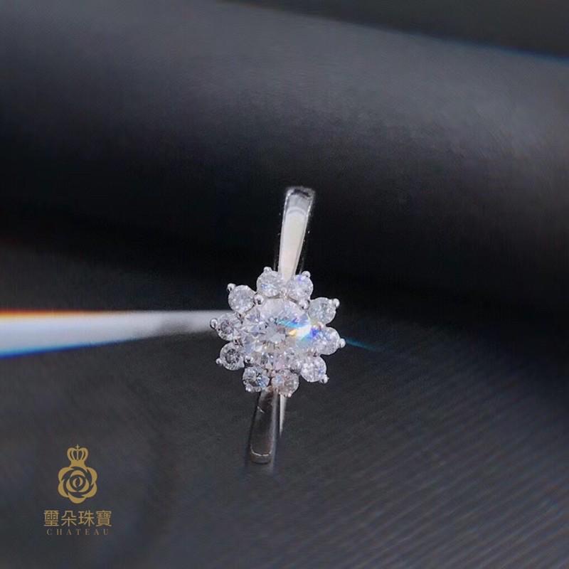 璽朵珠寶 [ 18K金 30分 花瓣 鑽石戒指 ] 微鑲工藝 精品設計 鑽石權威 婚戒顧問 婚戒第一品牌 鑽戒 GIA