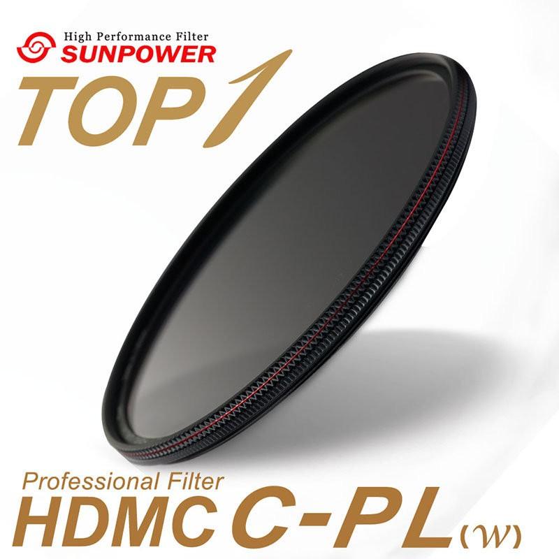 SUNPOWER TOP1 HDMC CPL 超薄鈦元素鍍膜偏光鏡 72 77 82 86 95 相機專家 [公司貨]