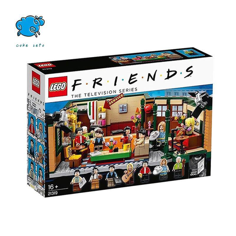 【現貨】正版樂高 LEGO 21319 Friends Central perk 老友記 中央公園咖Cokezero
