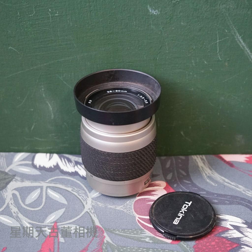 【星期天古董相機】TOKINA 28-80mm F3.5-5.6  單眼相機鏡頭