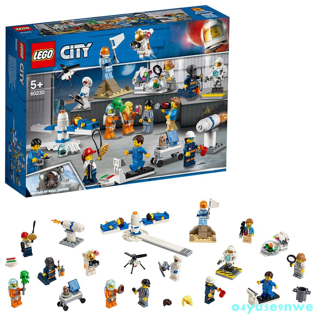 特惠★LEGO樂高60230航天小人仔套裝 城市組太空系列 男孩積木玩具 5歲★o4yu5e9nwe