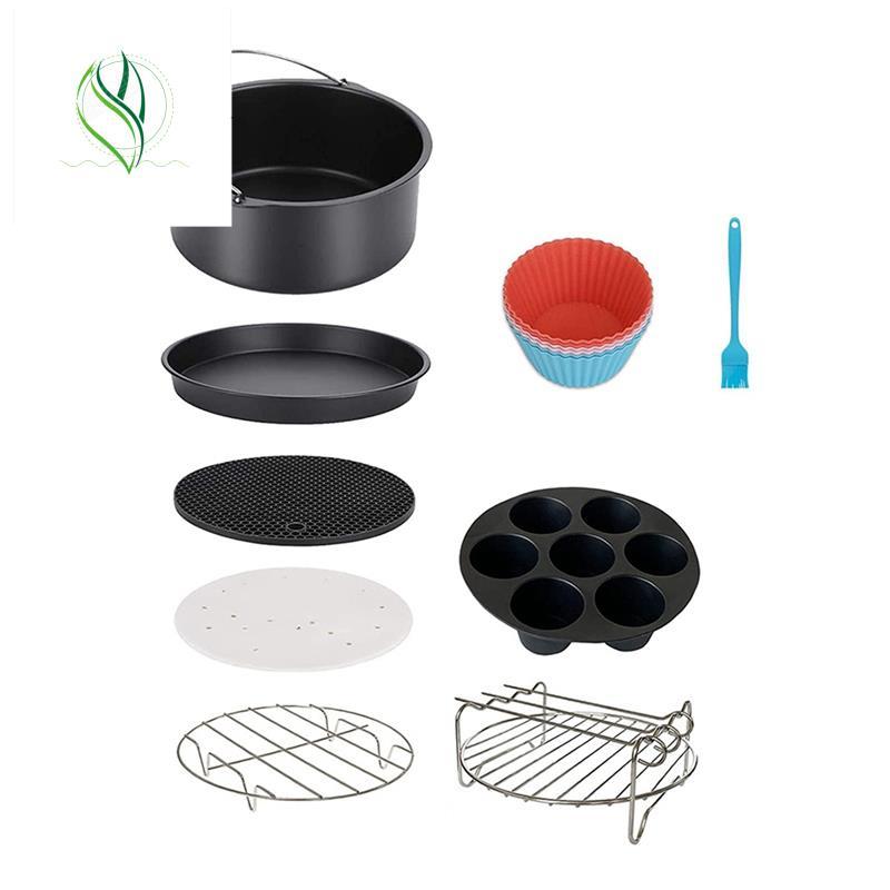 適用於空氣炸鍋配件菲利普斯Nuwave Gowise Gourmia忍者短跑空氣炸鍋,適合所有3.2-4.0-5.8QT