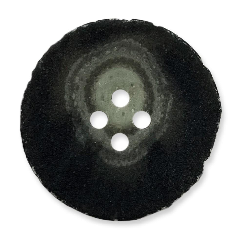 義大利製 樹脂釦 岩石感紋路 4孔 polyester 10顆/組 西服鈕釦 6452 2號色
