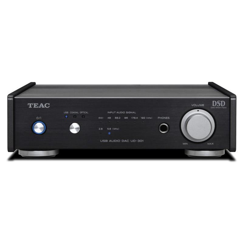 {音悅音響}TEAC UD-301 USB DAC / 耳擴 / 前級擴大機 DSD 勝旗公司貨 UD-301-X 黑色