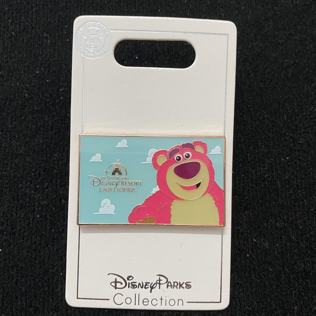 [11-25]上海迪士尼徽章disney pin迪斯尼勛章門票盲盒玩具總動員草莓熊