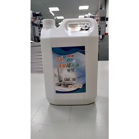 (非藥用)75%酒精清潔補充液