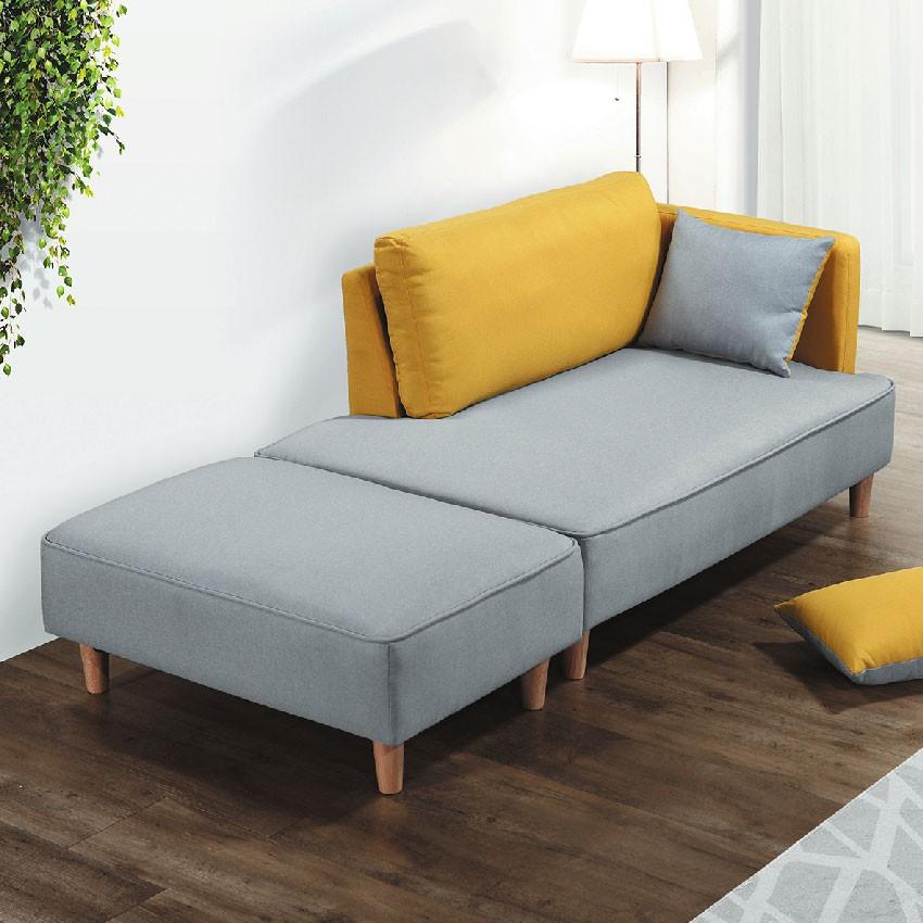 【190cm多色三人布沙發-E324-4】三人座 L型沙發 貓抓皮 布沙發 沙發床 沙發椅【金滿屋】