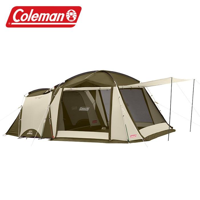 【Coleman 美國】TOUGH SCREEN 2-ROOM 帳篷 露營帳篷 一房一廳帳 (CM-33800M000)