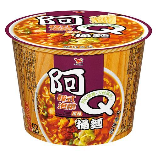 阿Q桶麵韓式泡菜風味102gx3桶/組【8054】