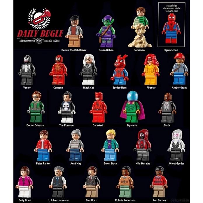 樂高LEGO 76178 人偶拆售 MARVEL 號角日報 Daily Bugle