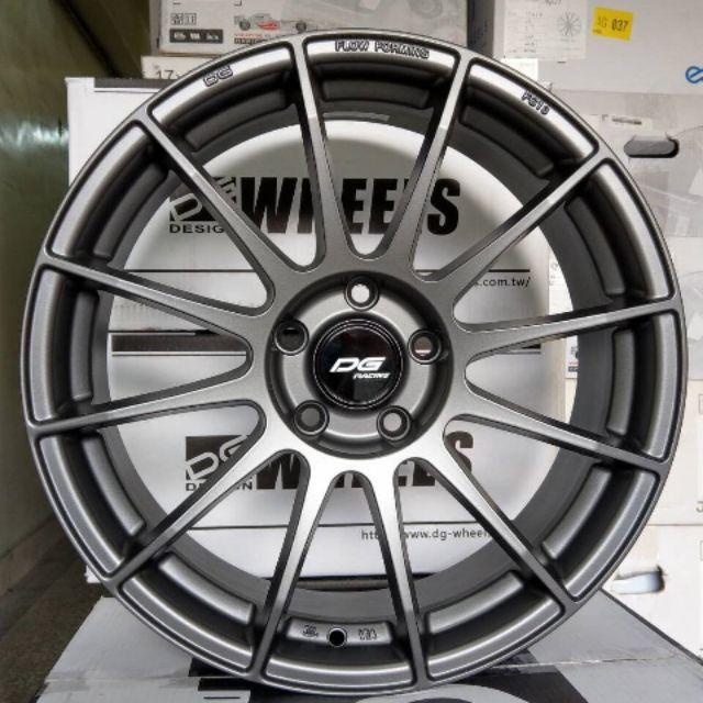 DG FG17  17吋4*100鐵灰旋壓輕量鋁圈~KICKS YARIS FIT(起標價非實際售價 請洽詢)