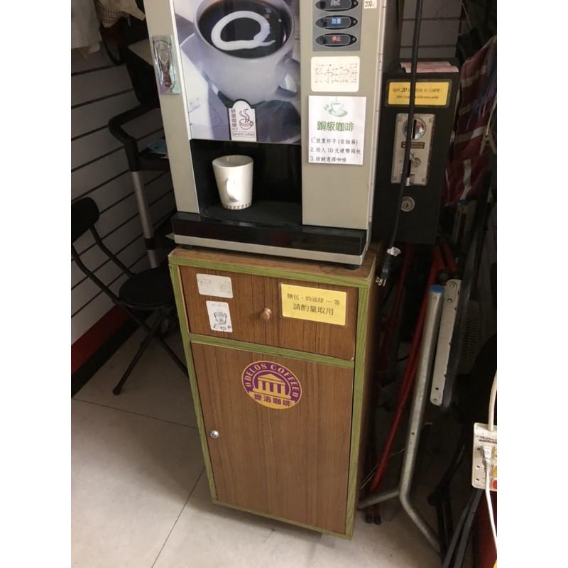 二手咖啡機一台 營業用 可投幣 可議價 請聊聊