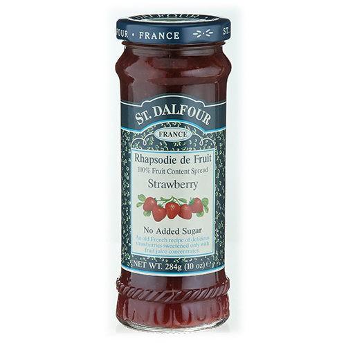 聖桃園~天然鮮草莓果醬284公克/罐