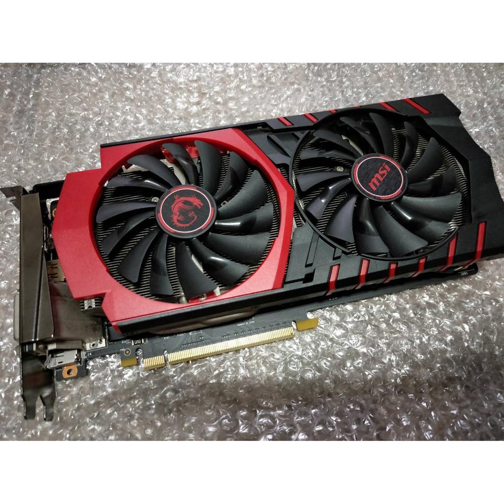 ★暫售★微星 MSI GTX 960 GAMING 2G (效能超越GTX1050,1060、RX580參考)顯示卡