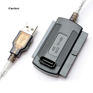 CARA_USB 2.0轉IDE /  SATA 2.5 /  3.5英寸硬盤磁盤HDD SSD 480Mb /  s適配器電