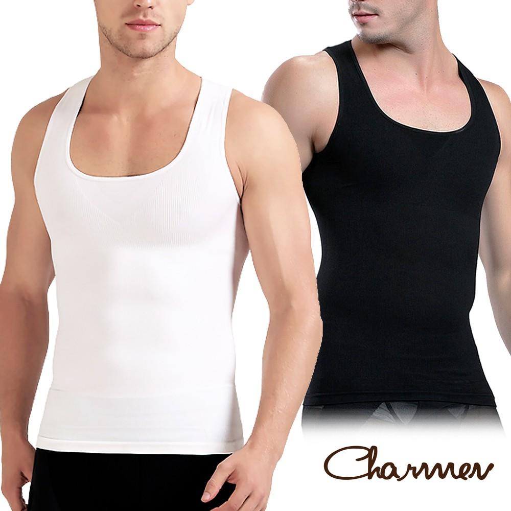 Charmen 升級加強版背心 男性塑身衣