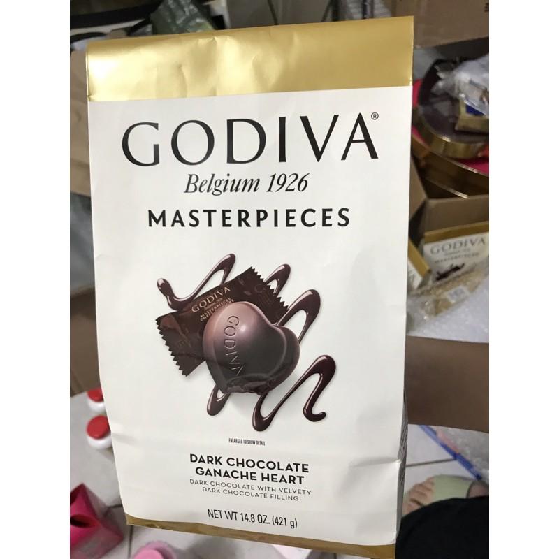 每週三現貨到台🔥🔥🔥美國好市多 熱賣零食 Godiva 心型黑巧克力