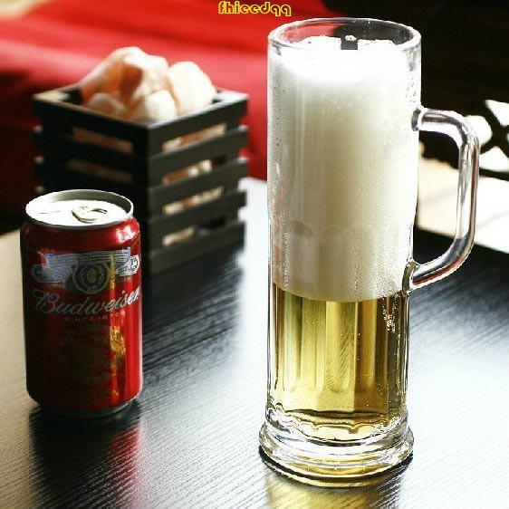 滿299出貨 Libbey利比 美國進口慕尼黑厚重玻璃杯啤酒杯帶把超大號扎啤杯✿筷客