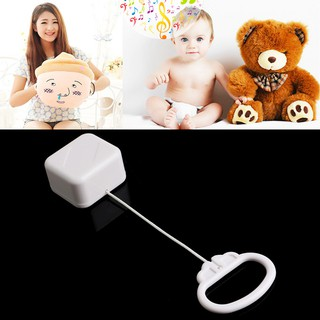 Mary 拉線線音樂盒白人嬰兒床鈴兒童玩具隨機歌曲