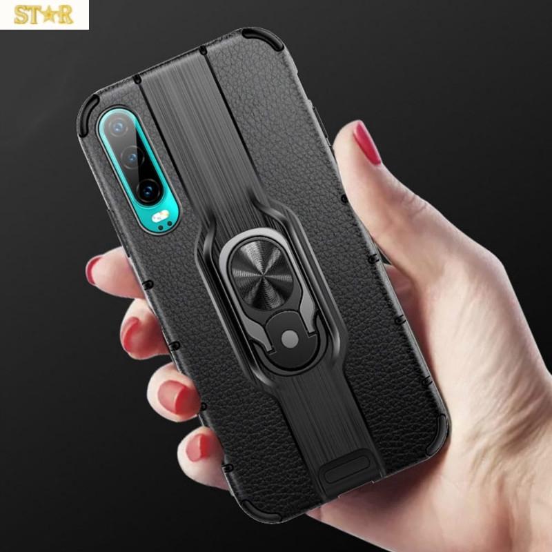 三星Galaxy S10 A50 A50S M20 M30 A7 2018 Alita Case防震腳架保護套隱形手指環