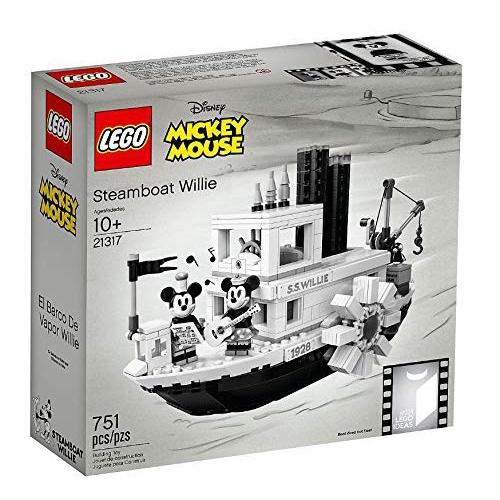 現貨免運[Yasuee] LEGO 樂高 21317 樂高 ideas系列 迪士尼 米奇 米妮 威利號蒸汽船