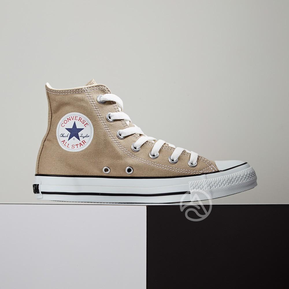 Converse CANVAS ALL STAR COLORS HI 高筒 日本限定 帆布鞋 奶茶色 1CL128
