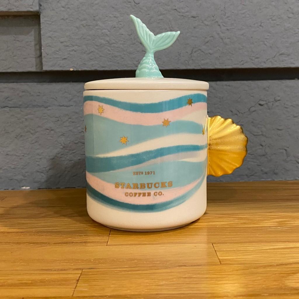 全新 星巴克 夢幻美人魚 杯子 美人魚杯 人魚杯 Starbucks 馬克杯