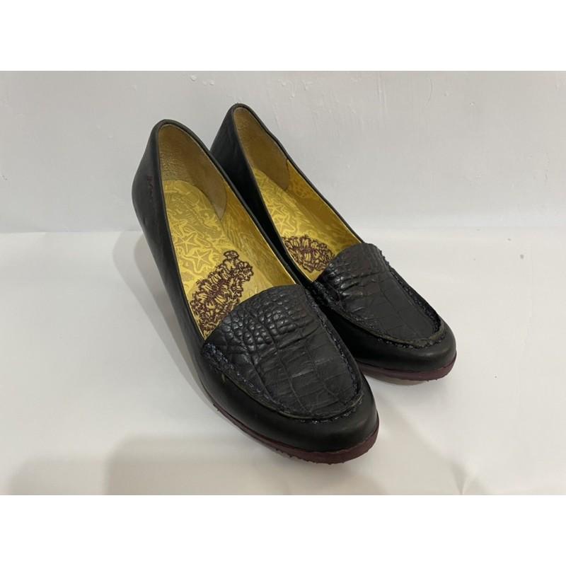 麥坎納 Macanna女鞋 高跟鞋 包鞋  尺寸6.5 超好穿 二手女鞋 小羊皮 麥肯納