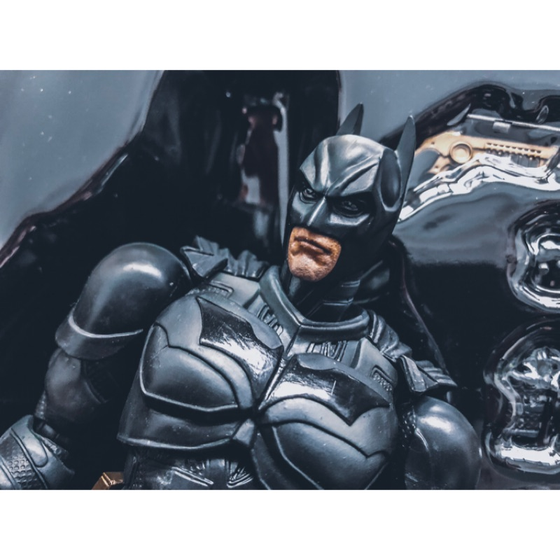 Play arts playarts dc Batman dark knight 黑暗騎士 2014 版本 蝙蝠俠