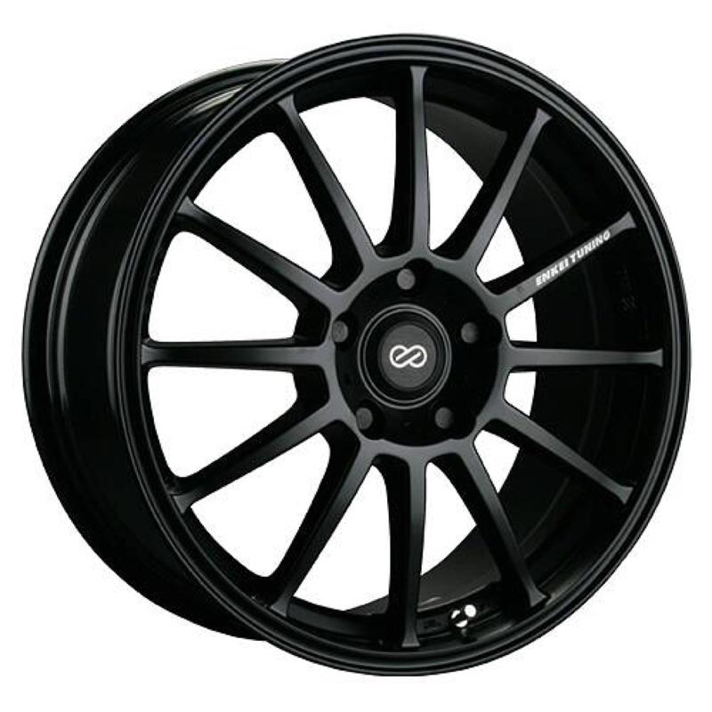 ENKEI  SC23 15吋5孔114.3平光黑鋁圈(價格標示88非實際售價,詳細價格請洽詢 優惠中)