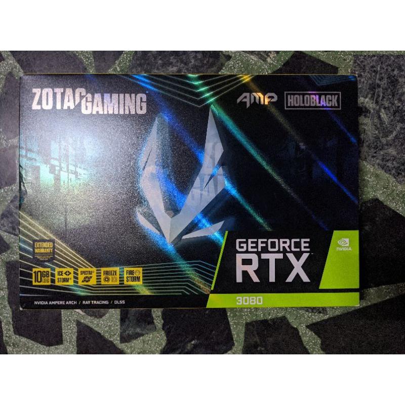 ZOTAC GAMING GeForce RTX 3080 AMP Holo 顯卡盒子