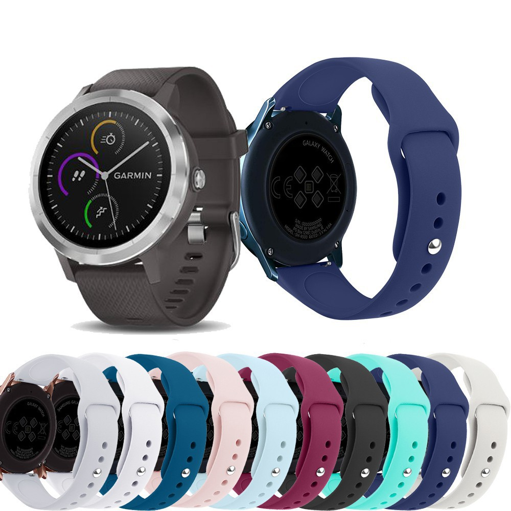 免運 時尚 Garmin Vivolife悠遊卡智慧手錶錶帶 運動腕帶 佳明 Vivolife手錶替換帶Garmin v