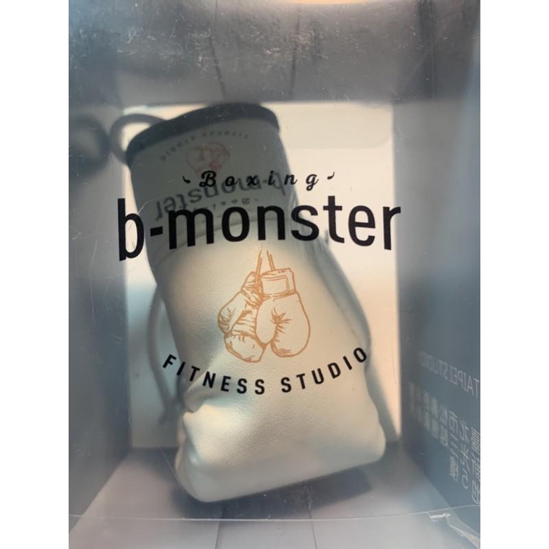b-monster迷你白色拳擊手套鑰匙圈