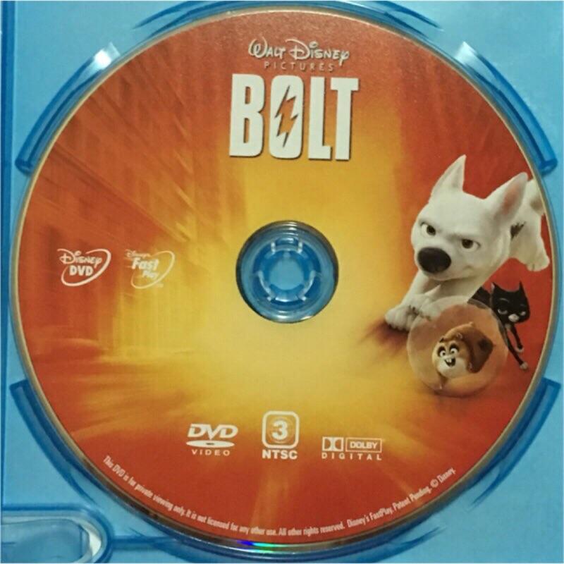 雷霆戰狗 DVD 迪士尼