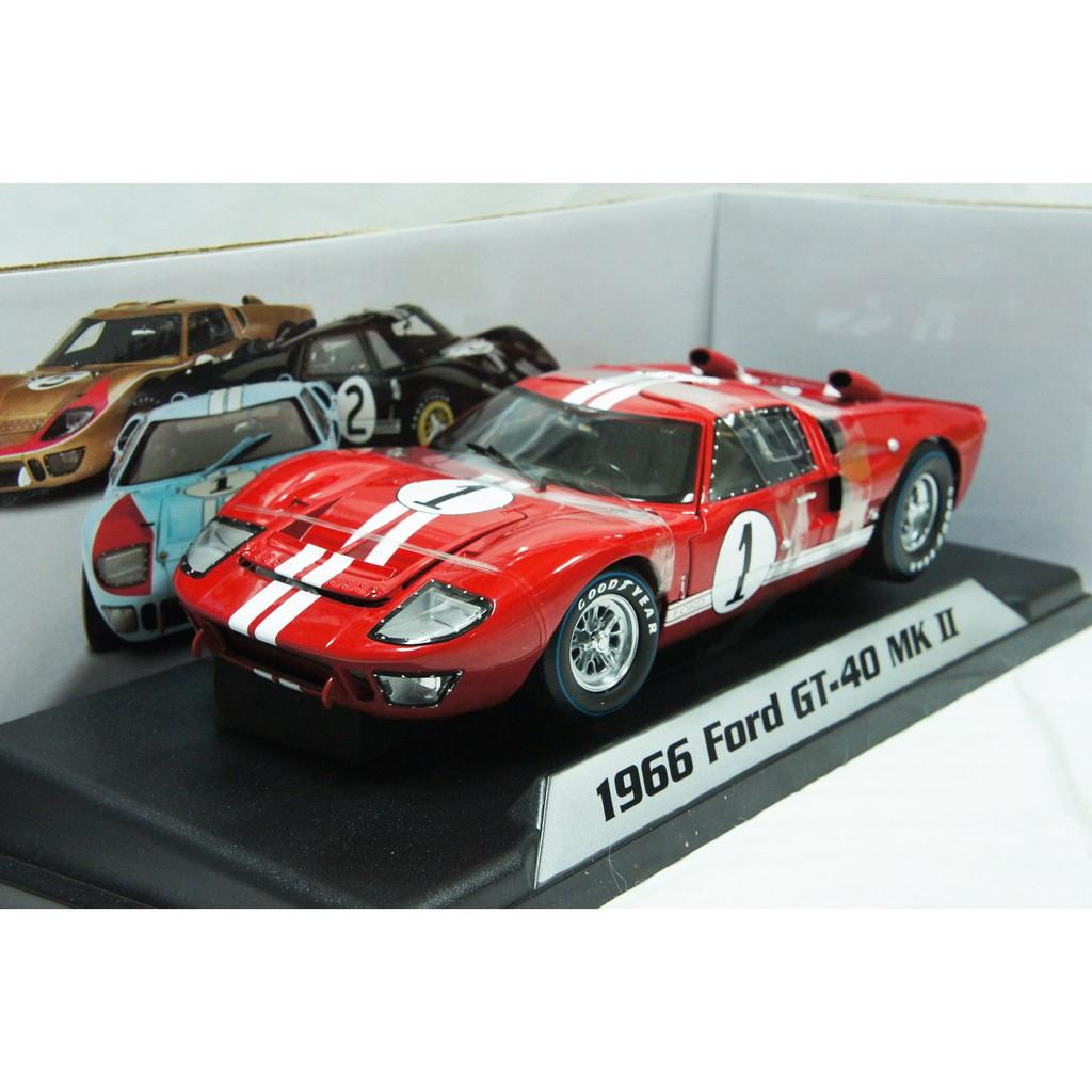 【現貨特價】賽道狂人 1:18 Shelby Ford GT40 MK 2 #1 Sebring 1966 Miles