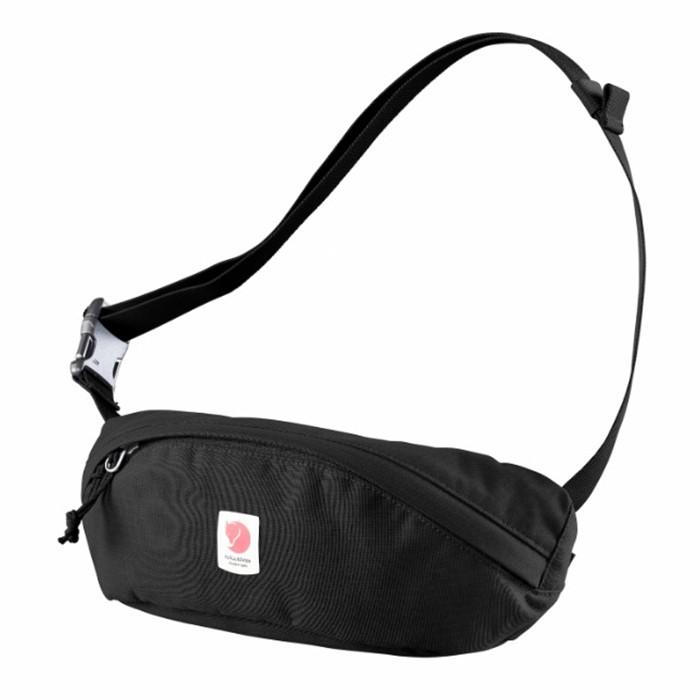 【Fjallraven北極狐】Ulvo Hip Pack Medium腰包-黑550(FR23165)