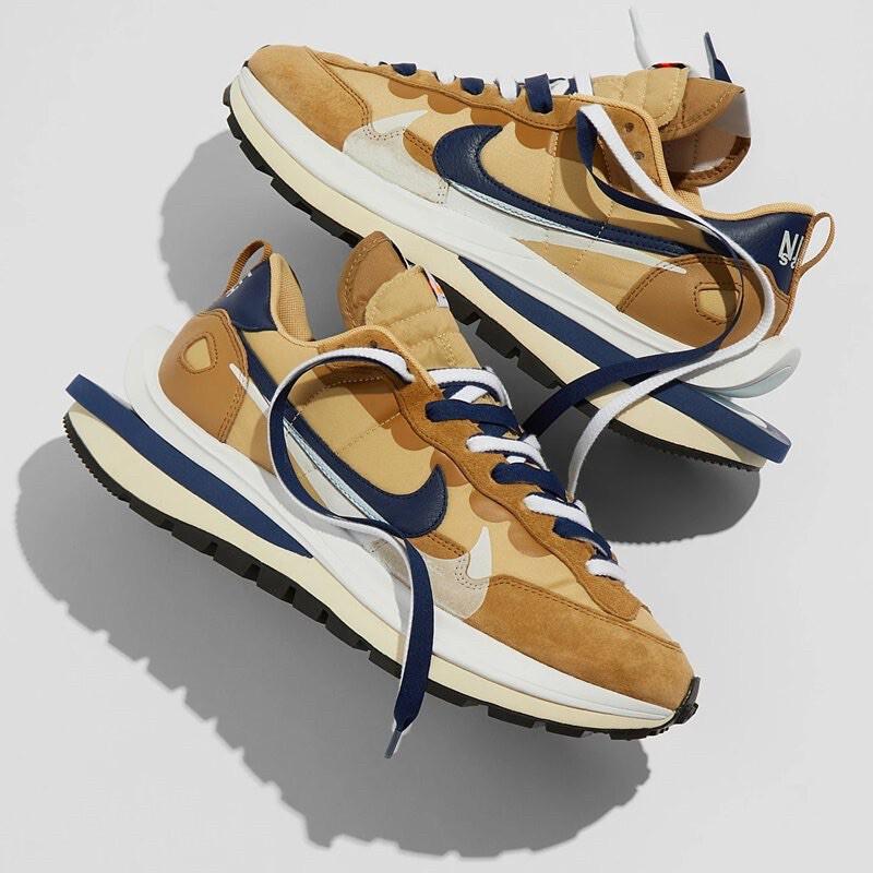 【EXIST】Nike X Sacai VaporWaffle 奶茶 卡其 DD1875-200