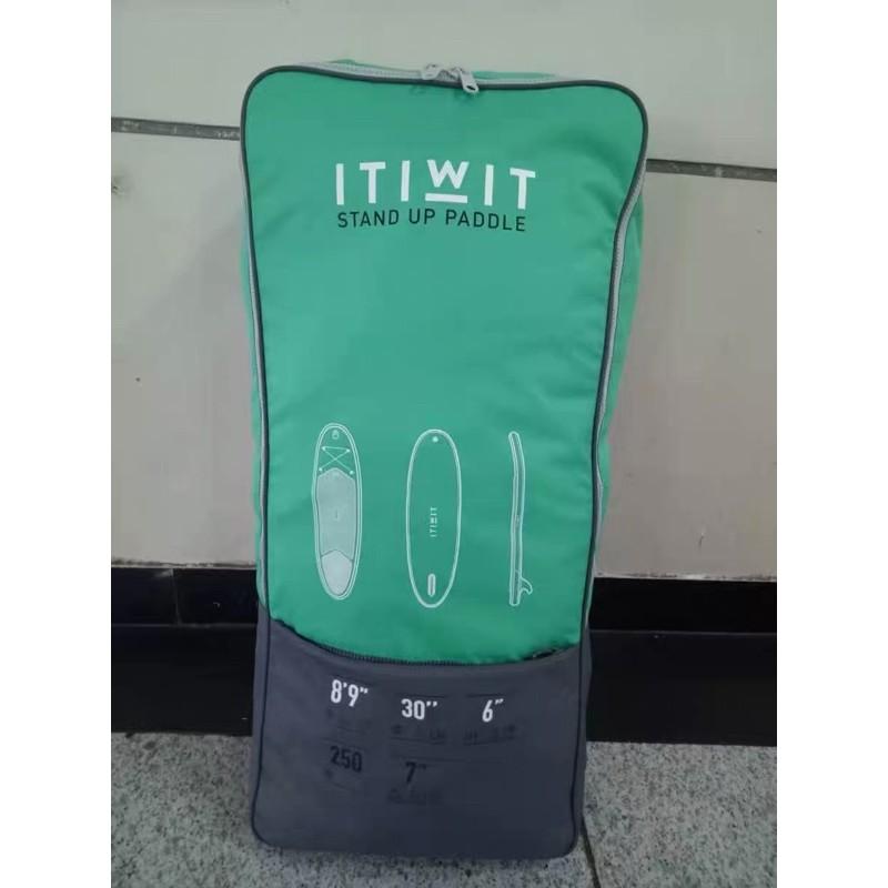 迪卡儂 ITIWIT SUP板收納後背包 立槳衝浪 背包 可當自由潛水包 放長蛙鞋兩雙