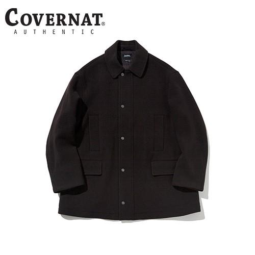 [COVERNAT] 20秋冬 羊毛中長版大衣(勃艮第酒紅)