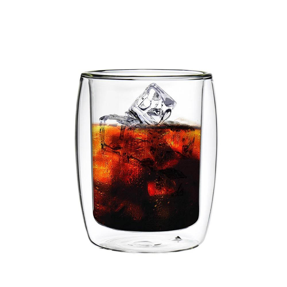 【FUSHIMA 富島】英倫系列雙層耐熱玻璃杯260ML