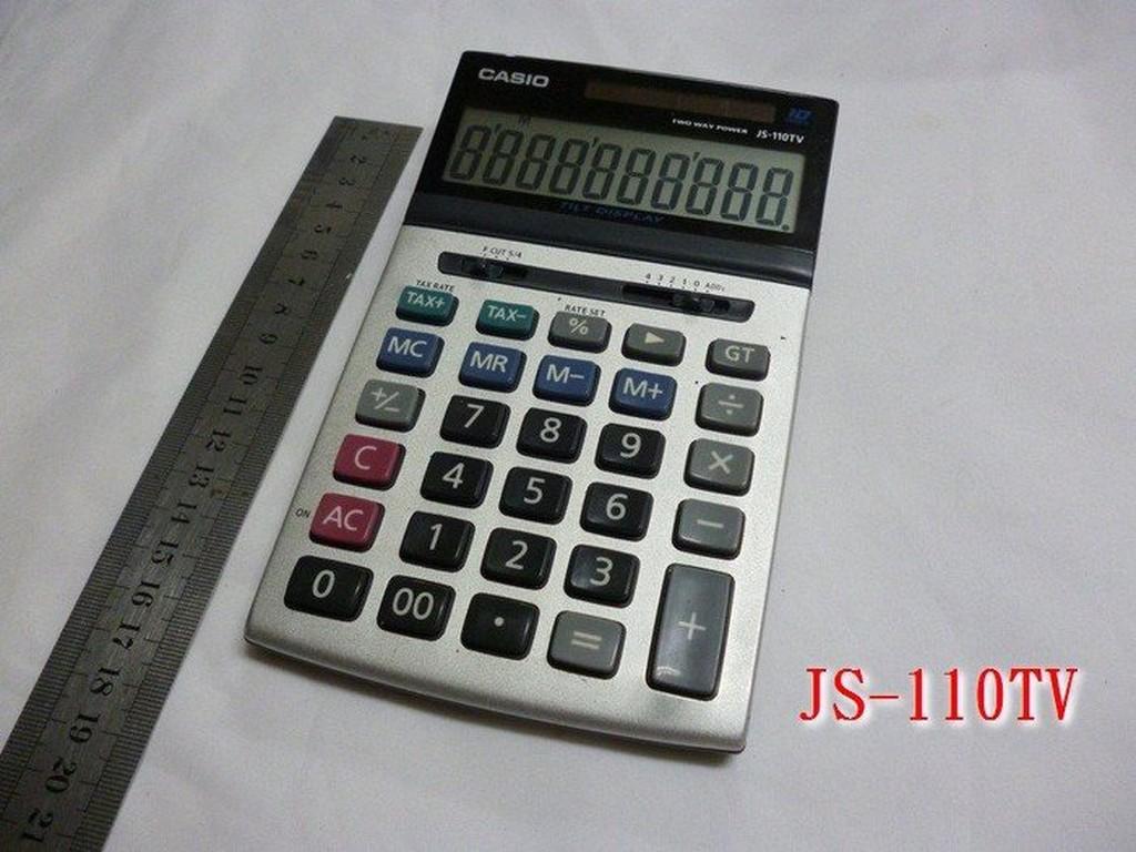 ☆CASIO計算機☆ JS-110TV JS-40V JS- 140V 系列 功能正常 歡迎貨到付款 zz271