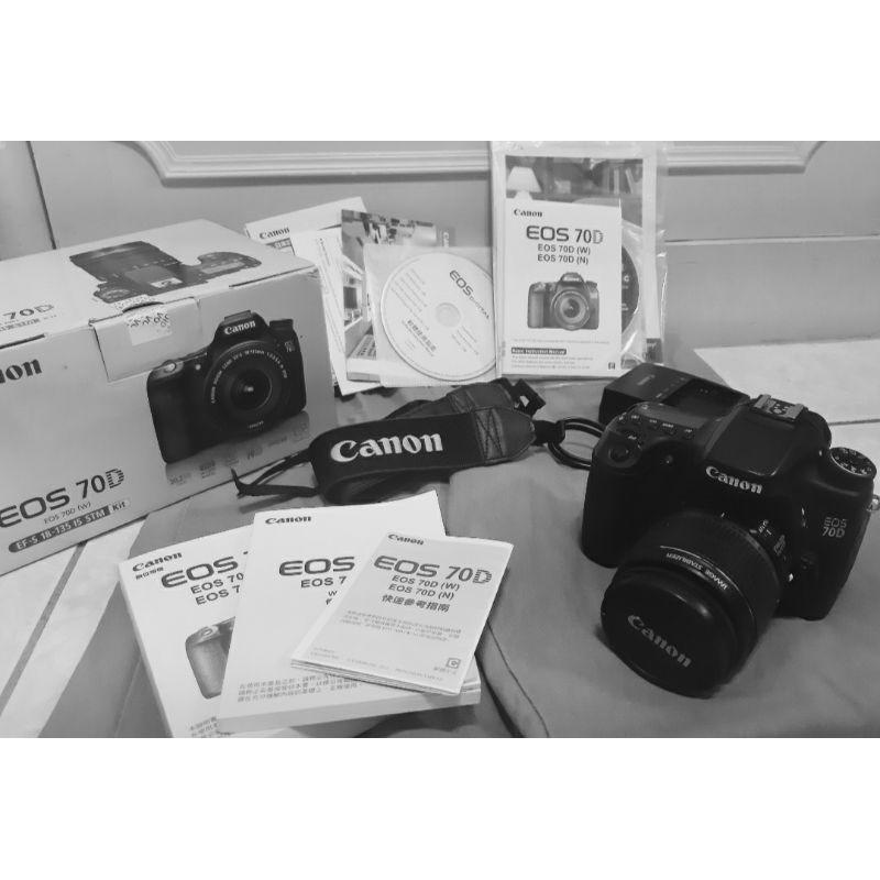 【九成新】Canon 70D 二手單眼相機