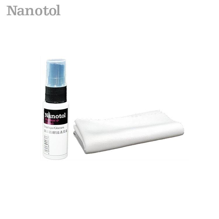 【Nanotol 】眼鏡/鏡頭&顯示器 奈米清潔液 20ml 有效除垢除汙 眼鏡除垢 鏡頭除垢 清潔劑去汙劑