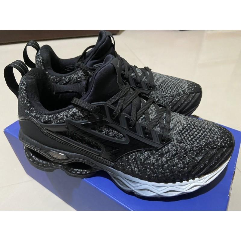 美津濃 mizuno WAVE CREATION WAVEKNIT 慢跑鞋 J1GD203309 24.5