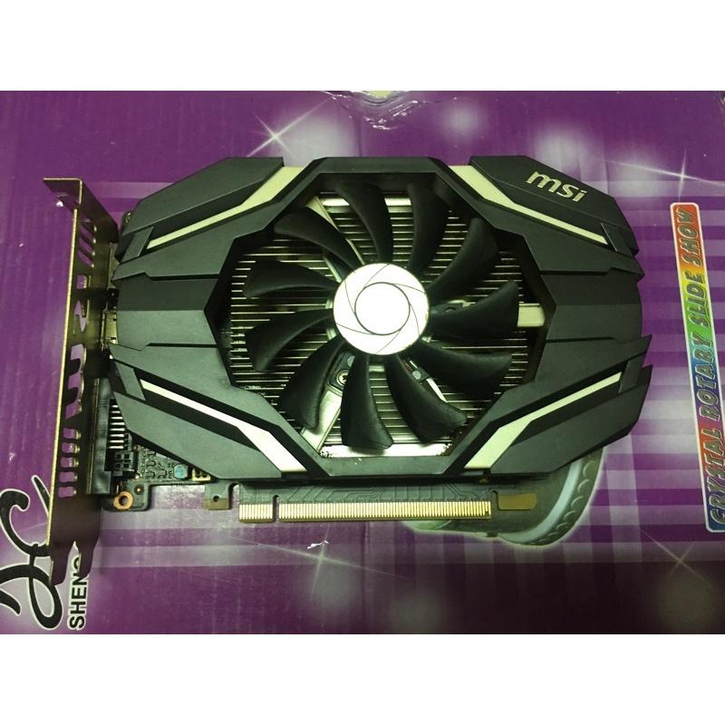 微星 MSI GTX1050ti 4G OC DDR5 MS-V809 顯示卡