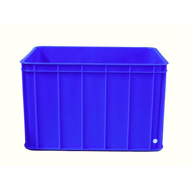 ʕ•ᴥ•ʔ 藍色塑膠桶/八格密/儲運桶(二手、八成新)/桃園區/中壢區