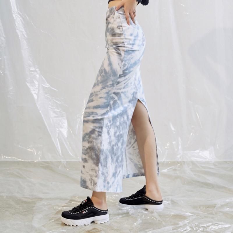 A BaO ! 韓國代購 🇰🇷 Fila Disruptor 2 TAPEY Mule 跑馬燈 鋸齒鞋 穆勒鞋 黑白