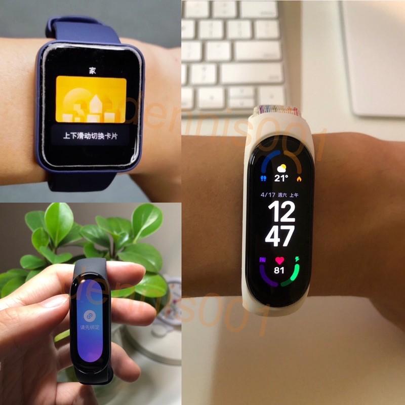 【我貓超胖】自備手環➕悠遊卡  小米手環6 NFC 華米 手錶 NFC 悠遊卡 門禁卡 電梯卡 加密卡 IC卡