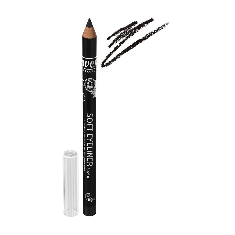 德國 Lavera 柔和眼線筆 - 01 黑色 1.14g (LV825)